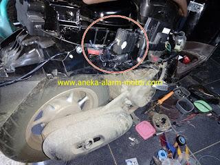 Cara pasang alarm motor All New Honda Scoopy ESP