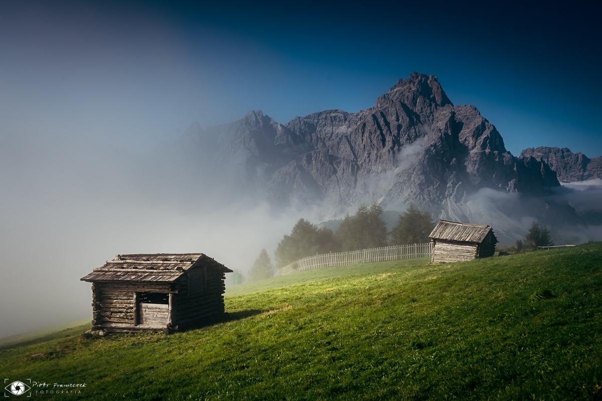 Najpiękniejsze szlaki w Alpach na jesień Helm Monte Elmo