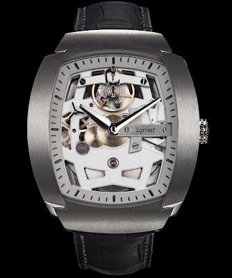 LORNET LA-01 watch made in Besançon, France