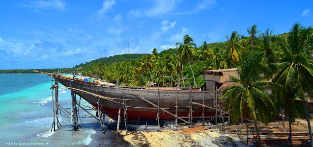 Mahakarya Perahu Phinisi dari Butta Panritalopi, tanah para ahli perahu | © jelajahsuwanto