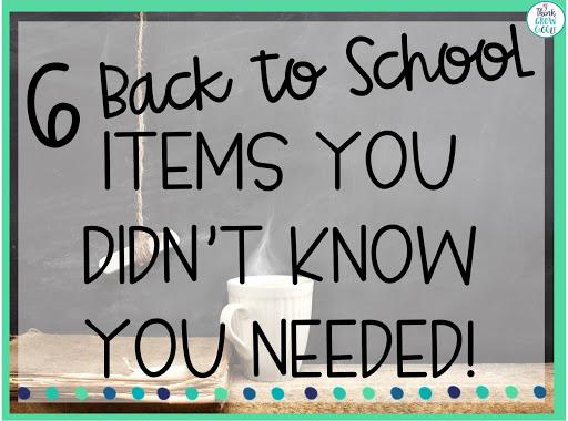 back to school teacher supplies