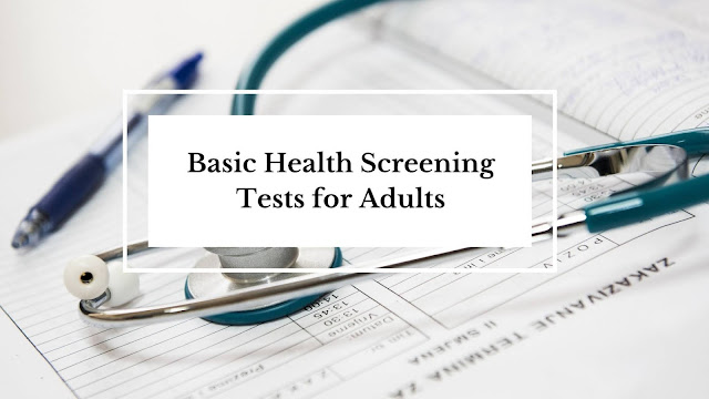 basic health screening for adults