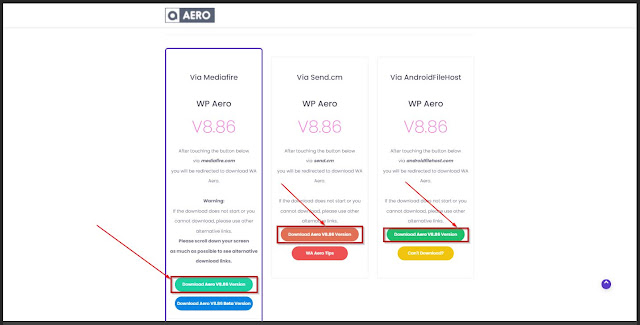 download WP Aero Terbaru 2021