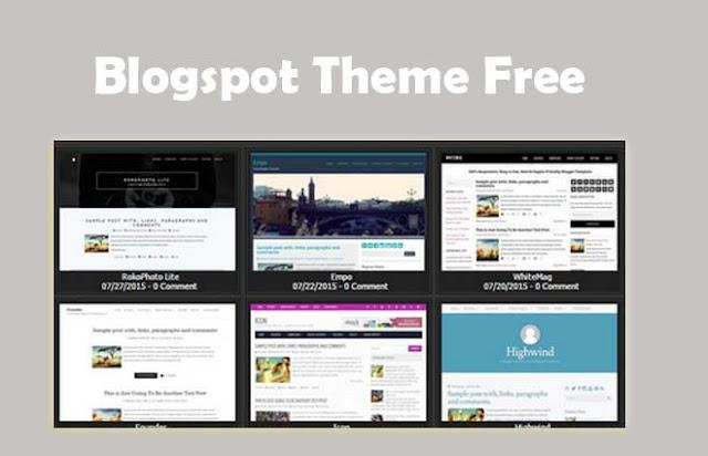 Blogspot Theme Free