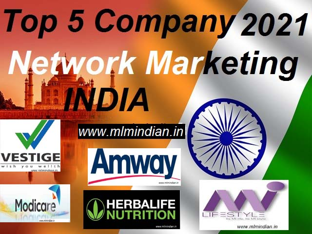 top five mlm company in india