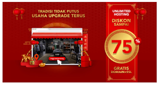 Imlek 2021 Promo Hosting Unlimited Indonesia