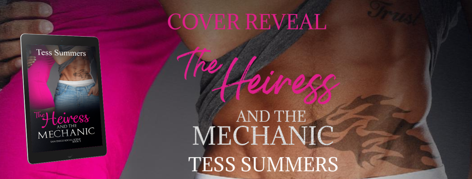 Cover Reveal The Heiress And The Mechanic by Tess Summers