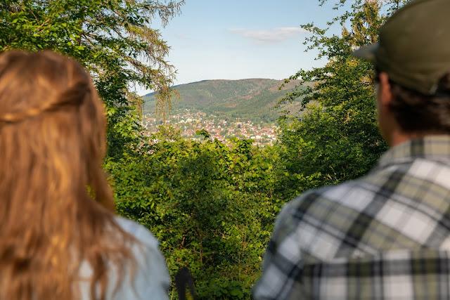 Kästeklippentour und Sonnenuntergang im Harz | Wandern in Bad Harzburg 06