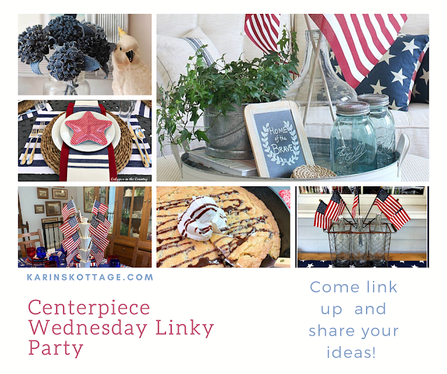Wednesday Linky party for bloggers to share their creativity- Karins Kottage