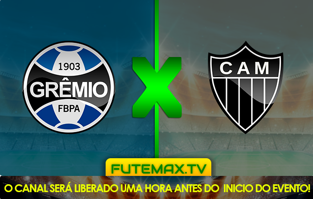 Assista agora a partida entre Grêmio x Atlético-MG ao vivo pelo Campeonato Brasileiro Série A a partir das 19h00 (de Brasília) com transmissão exclusiva do canal PREMIERE  (FUTEMAX)
