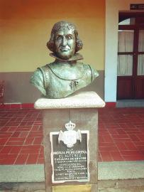 Monumento a Catalina de Erauso en México