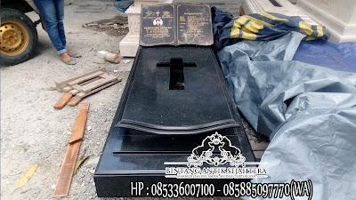 Makam Granit Kristen, Kuburan Kristen Di Jakarta, Kuburan Kristen Minimalis