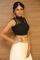 Roshni Prakash in a Sleeveless Crop Top and Long Cream Ethnic Skirt 059.JPG