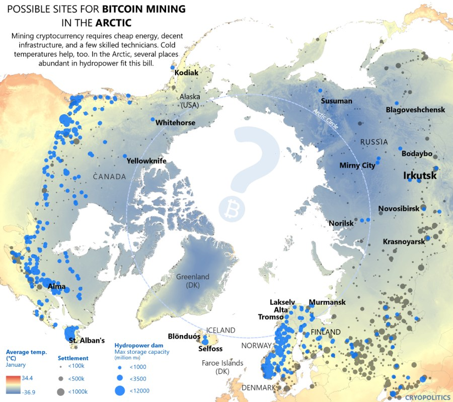 Map Of Canada North Of 60.Millennial Extremes 14 Next Gen Tech And The Bering Strait