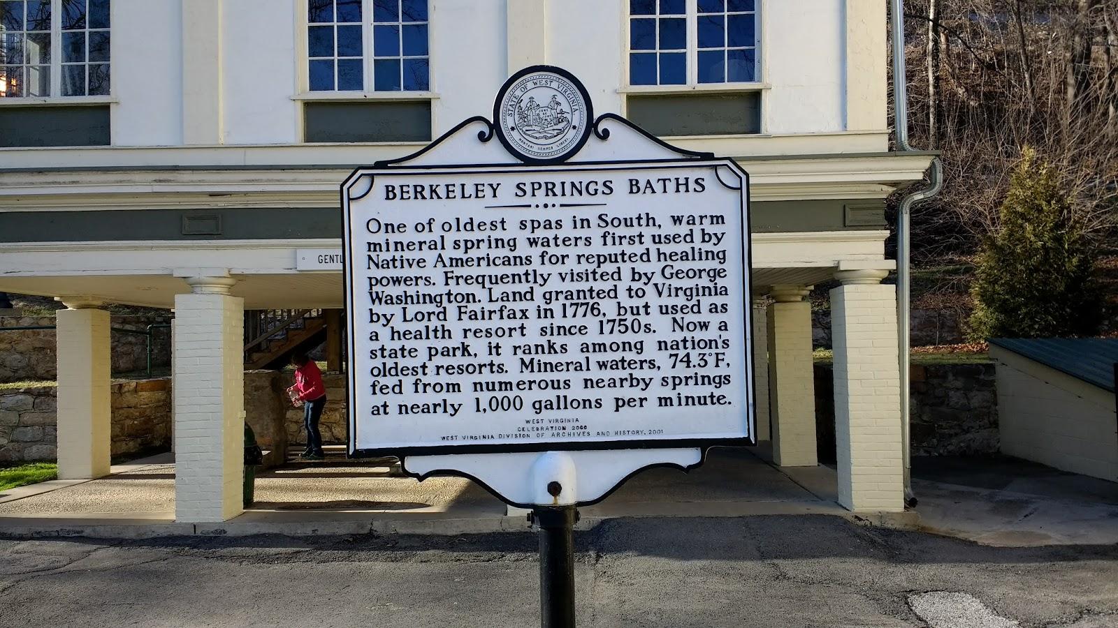 berkeley springs, west virginia - chez jacqua