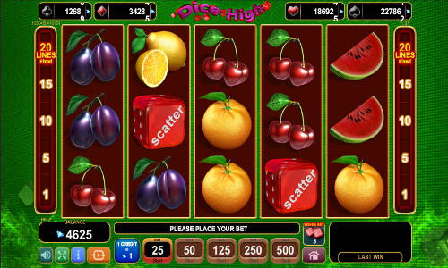Jucati acum Dice High Slot Online