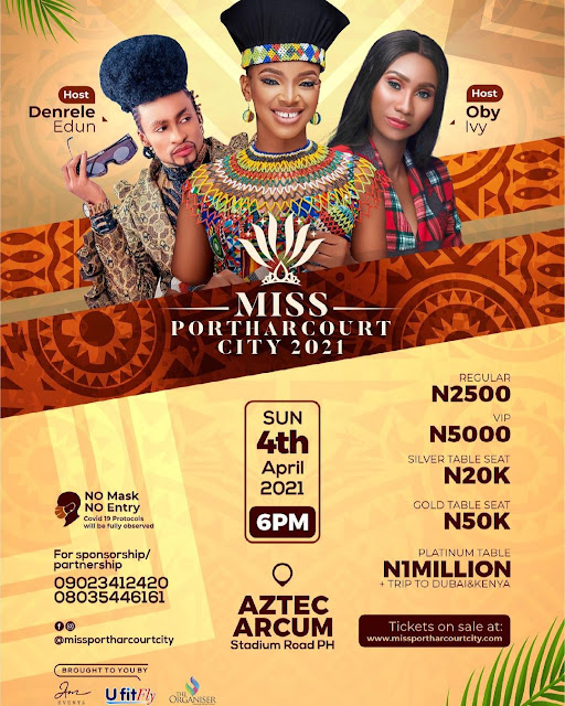 Who will become the 5th Miss Portharcourt City 2021