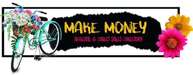Bicycle with flowers: Make Money Affiliate and Direct Sales Directory