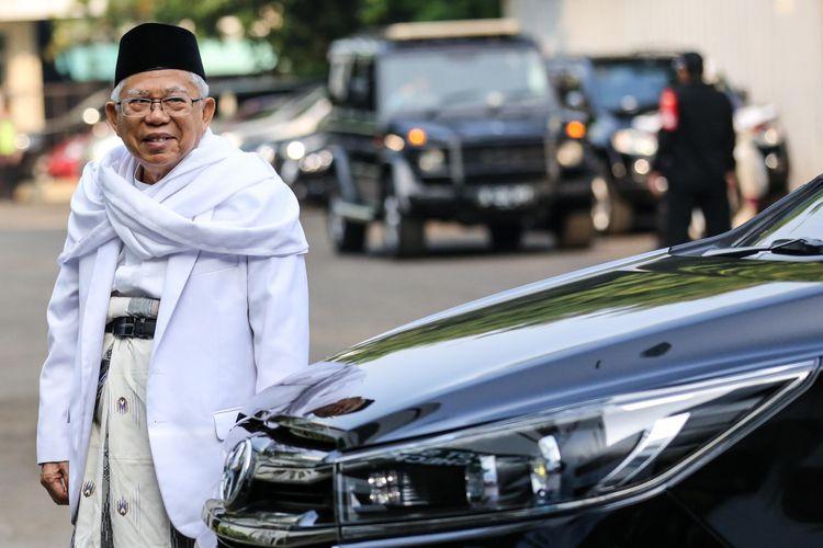 Tak Menyangka, Begini Respons KH Ma'ruf Amin Soal Dukungan Ijtima' ke Prabowo-Sandi