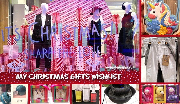 Christmas wishlist - Christmas gift ideas - Christmas - family - Bacolod blogger - Bacolod mommy blogger - shopping - The SM Store Bacolod - SM City Bacolod