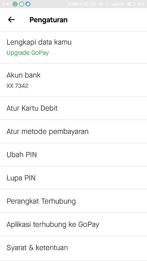 Cara Menambahkan Metode Pembayaran LinkAja di Aplikasi Gojek