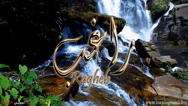 معنى اسم راغب وصفات حامل هذا الإسم Ragheb