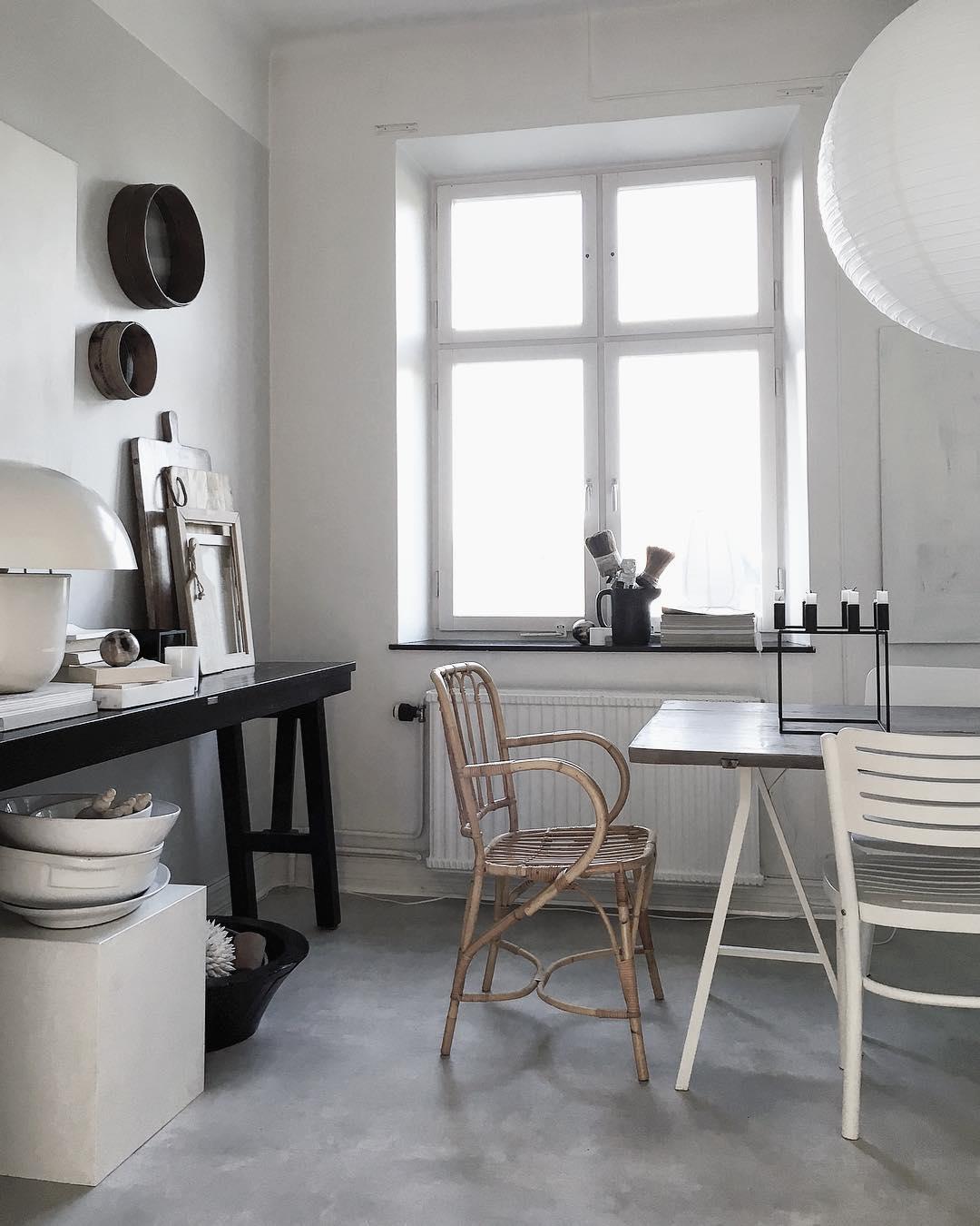 Una casa estudio de estilo nórdico