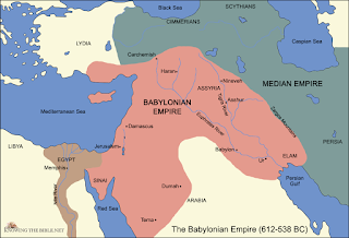 Neo-Babylonian Empire Map
