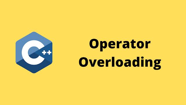 HackerRank Operator Overloading solution in c++ programming