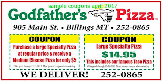 Godfathers Pizza coupons for april 2017