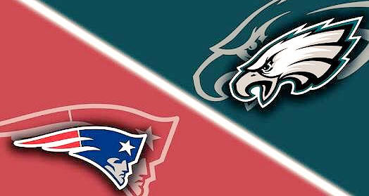 Finale Super Bowl 52: New England Patriots vs Philadelphia Eagles