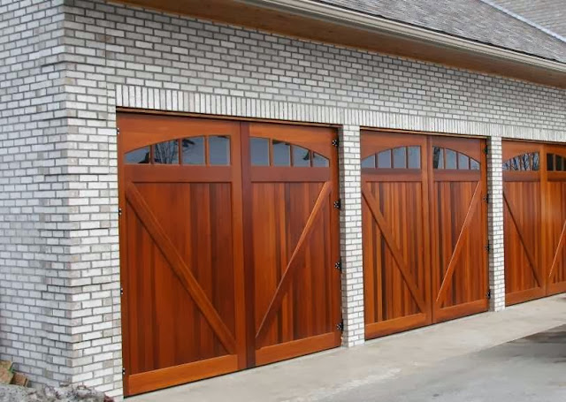 garage door weight wood