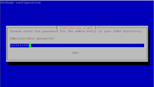 Password ldap server