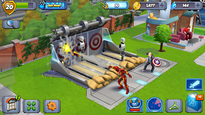 Tampilan Game MARVEL Avengers Academy