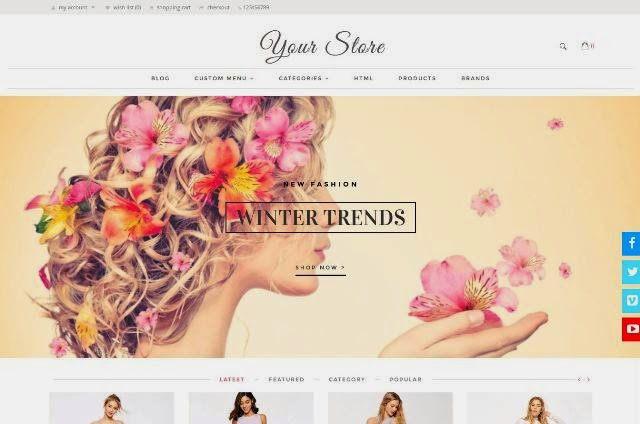 Beaute Responsive Opencart Theme