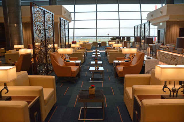 EMIRATES OPENS NEW LOUNGE AT ROME?S INTERNATIONAL AIRPORT