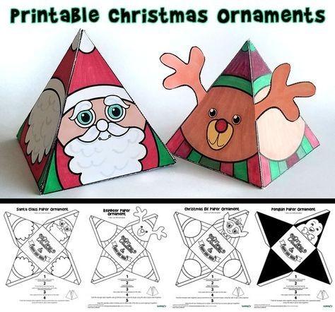 Caixinhas De Natal Com Molde Para Imprimir Faca Voce Mesmo Como