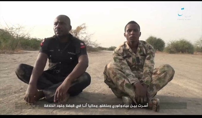 BREAKING: Boko Haram Terrorist Releases New Video, Kills Nigerian Soldier, And A Policeman