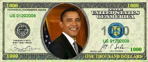 New U S Presidents Series Novelty Notes