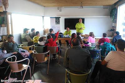 Aula de formació a Plegadis
