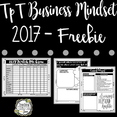 Teacher Pay Teacher Business Mindset 2017