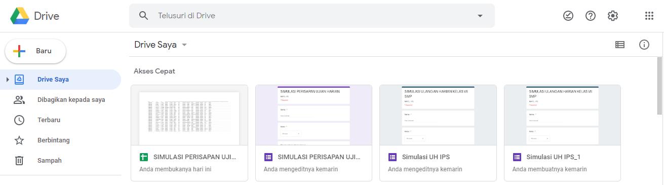 Cara Membuat Kuis Dengan Google Formulir Sebuah Tutorial
