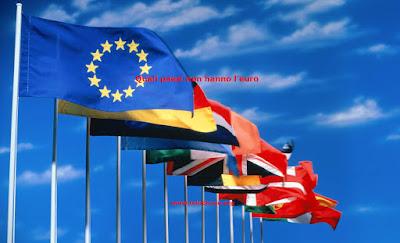 Quali paesi europei non hanno l'euro