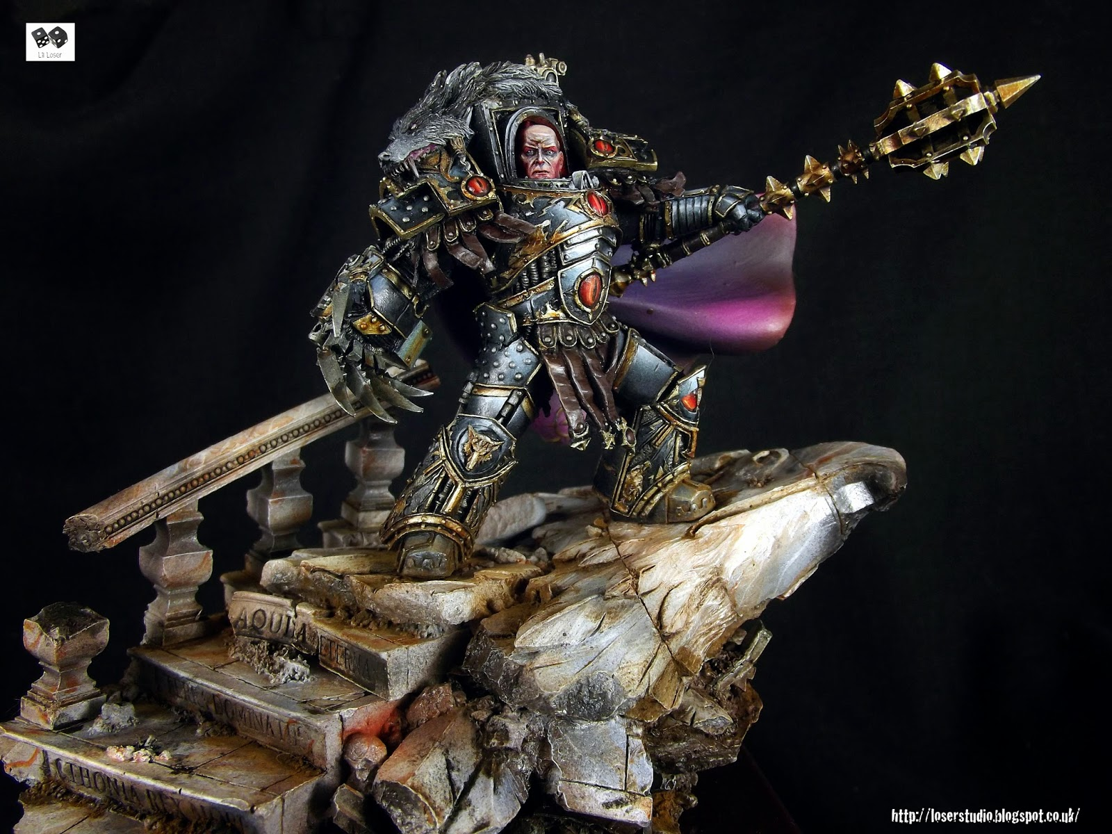 Horus Lupercal Master of Mankind. Primarch of the Sons of ...  Horus Lupercal ...
