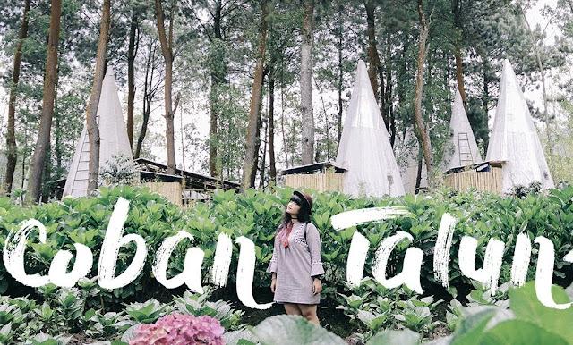 Rute Lokasi Harga Tiket Masuk Coban Talun Batu Malang