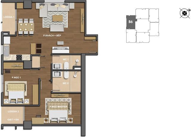 bán chung cư hongkong tower 243a đê la thành