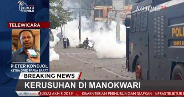 Kapolri Sebut Kerusuhan Manokwari Akibat Provokasi Oknum yang Memanfaatkan Insiden Surabaya-Malang