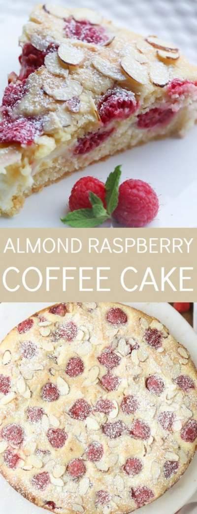 Almond Raspberry Coffee Cake