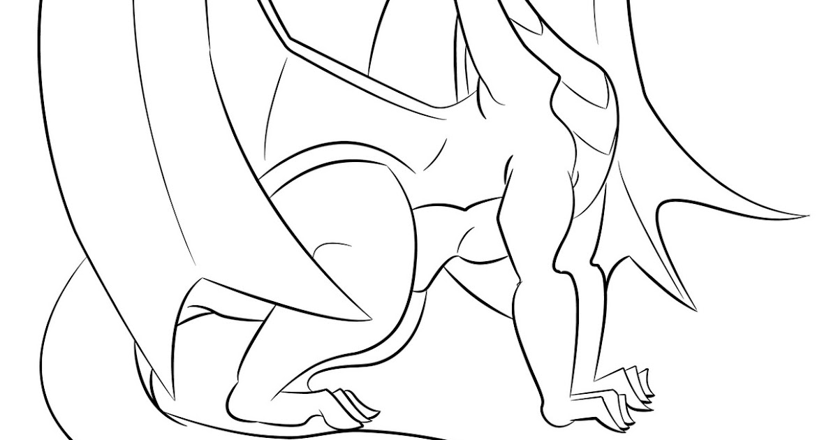 Montes Graphics: Children's Coloring Book Dragon illustration