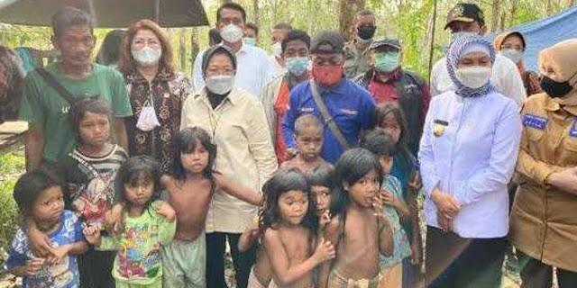 Tak Penuhi Janji, Wajar Suku Anak Dalam Jambi Tuding Mensos Risma Pencitraan